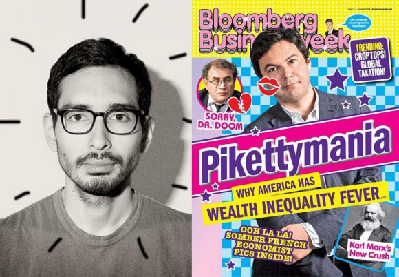 Rob Vargas and Bloomberg covers